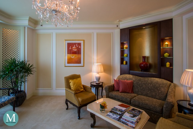 One-Bedroom Suite The Valley Wing, Shangri-La Hotel Singapore