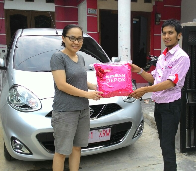 Terimakasih atas kepercayaan Kak Yusmaidalena yg telah membeli Nissan New March XS melalui media www.touchnissan.com.  Semoga Berkah ya Kak...
