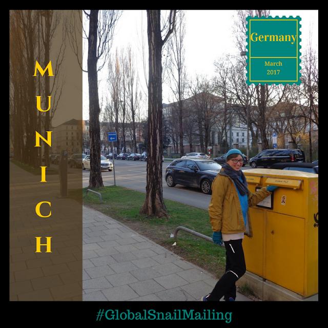 #GlobalSnailMailing Munich