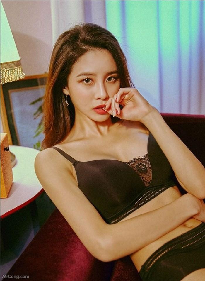 Image Korean-Model-Ju-Woo-012018-MrCong.com-007 in post Người đẹp Ju Woo trong bộ ảnh nội y tháng 01/2018 (50 ảnh)