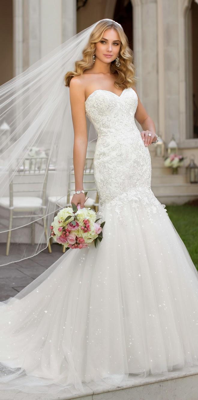 Stella york fall 2014 belle the magazine for Trisha yearwood wedding dress
