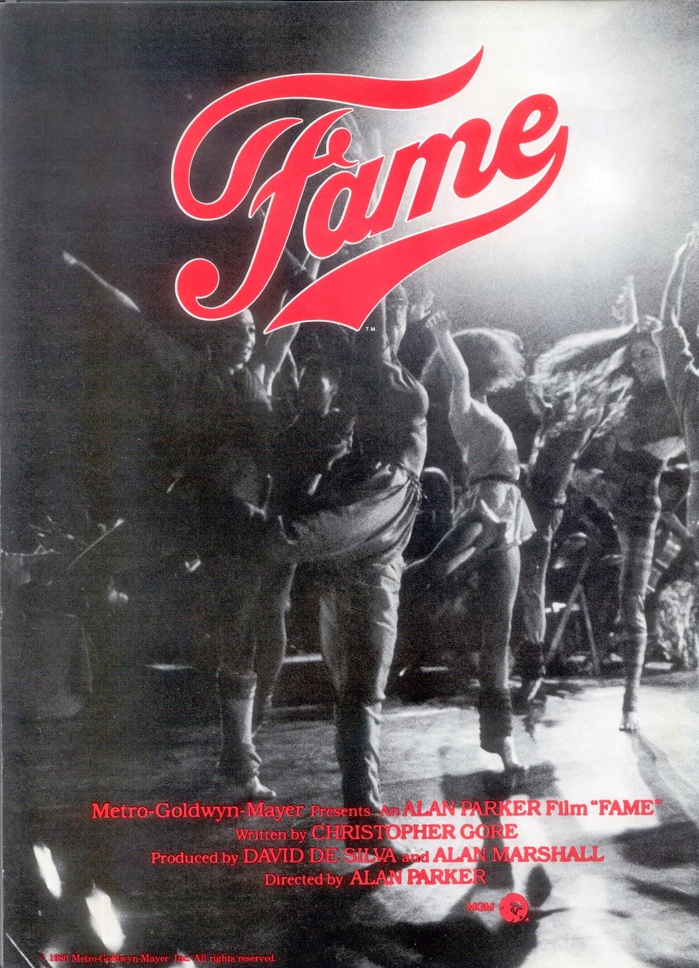 Kids From Fame Media: Fame 1980 Press Programme