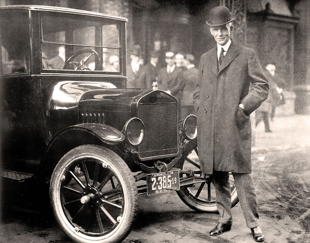 Henry Ford and Model T, Hotel Iroquois, Buffalo 1921