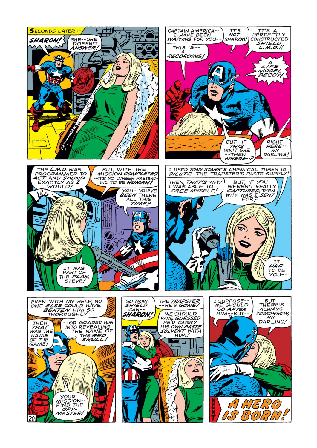 Captain America (1968) Issue #108 #22 - English 21