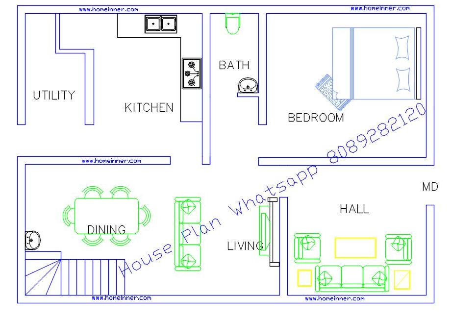 800 sq ft low cost house plans with photos in kerala for Low cost house plans with estimate