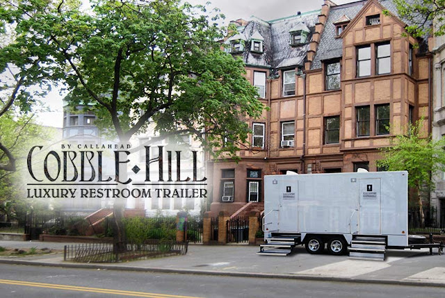 Super Bowl LII & 'The Cobble Hill' Restroom Trailer are a Perfect Match for Your Party