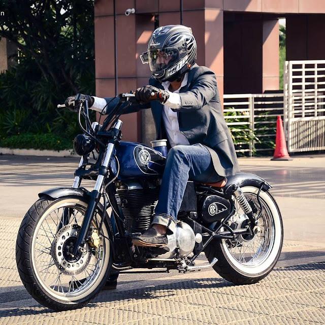 Buraq Motorcycles Modified Royal Enfield 500