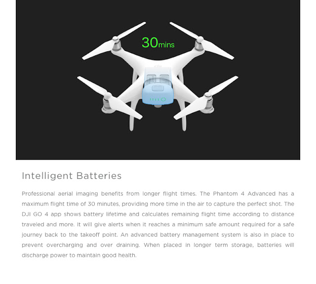 which borrows features from the Pro model Dji Phantom 4 Advanced Review - Specs in addition to Price