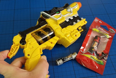 Bandai Power Rangers Dino Charge Morpher review