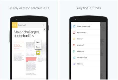 تحميل برنامج adobe reader apk-iOS ادوب ريدر لقراءة ملفات PDF للاندرويد والايفون