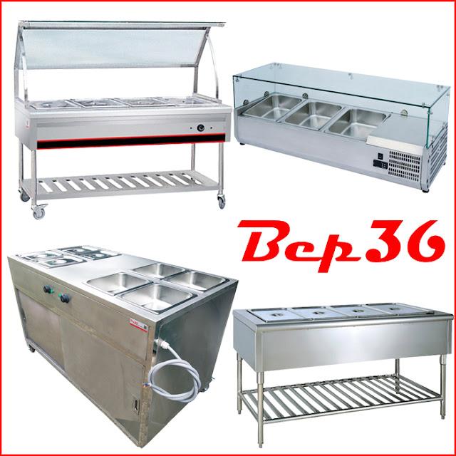 Tủ - quầy giữ nóng thức ăn