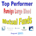 Top Performer Foreign Large Blend Stock Mutual Funds 2011