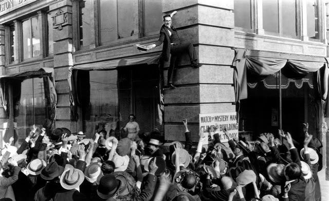 Harold Lloyd Safety Last 1923 silent movie