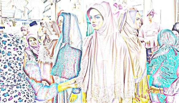 Tren Baju Muslimah Musim Lebaran Di Pasar Tanah Abang