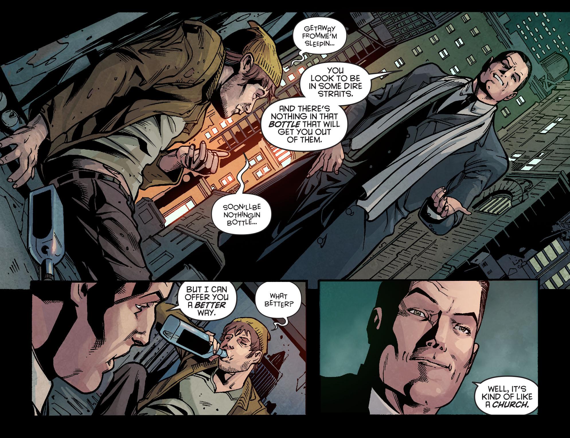 Read online Arrow: Season 2.5 [I] comic -  Issue #2 - 10