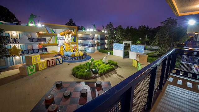 Informações do Hotel Disney's All-Star Movies Resort