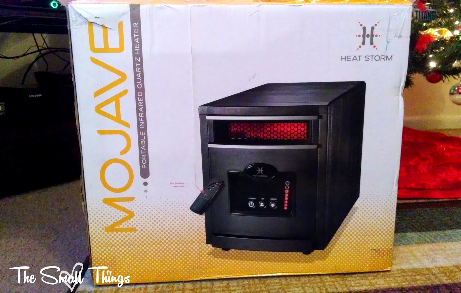 Heat Storm Mojave Portable Infrared Heater Review Giftguide