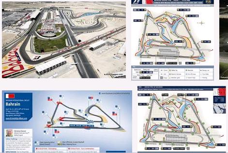 Gambar Sirkuit Internasional Bahrain