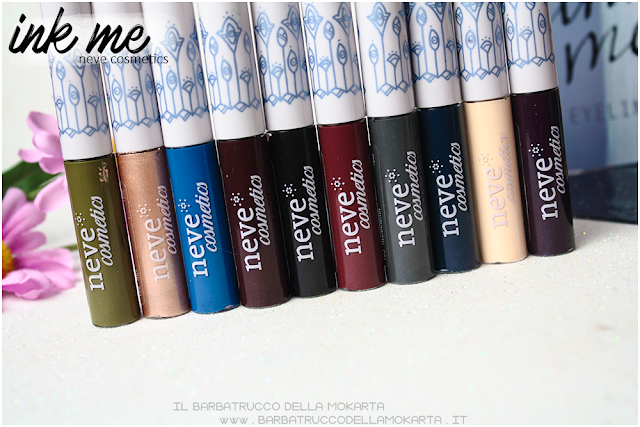 PACKAGING INKME EYELINER NEVE COSMETICS PARERI