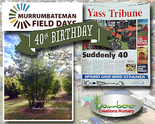 bamboo creations victoria are attending the Murrumbateman Field Days event