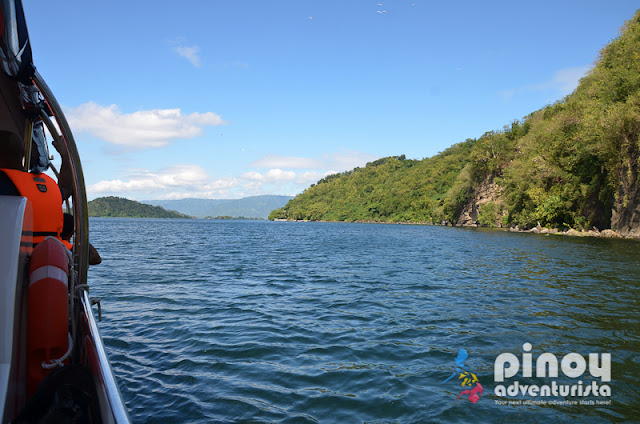 Cruising Taal Lake from Balete Batangas