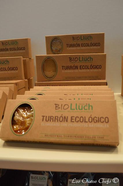 Turrones Bio Lluch