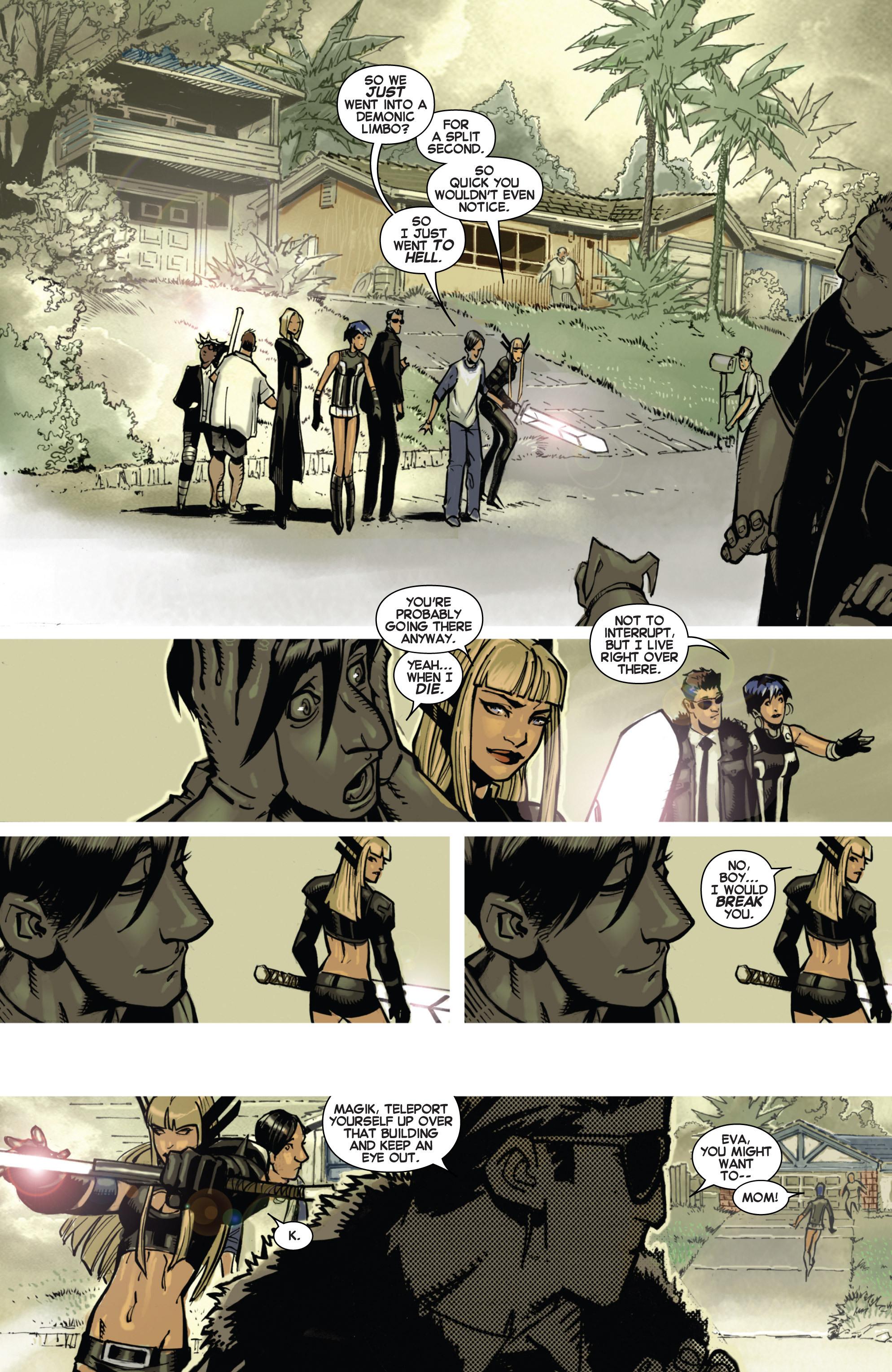 Read online Uncanny X-Men (2013) comic -  Issue #2 - 17