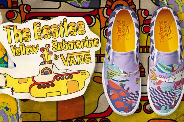 320cf2a5a5 NHBL - Vans Collaborated with The Beatles for A Limited Edition of ...