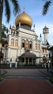 Sultan Mosque Kampong Glam Singapore