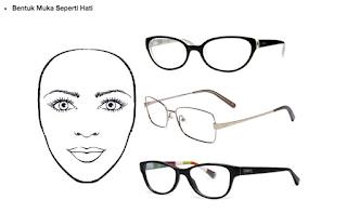 Tip Memilih Cermin Mata Ikut Bentuk Muka