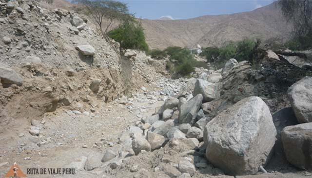 Inicio de Caminata - Camino Inca Chontay