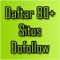 Daftar Situs Dofollow