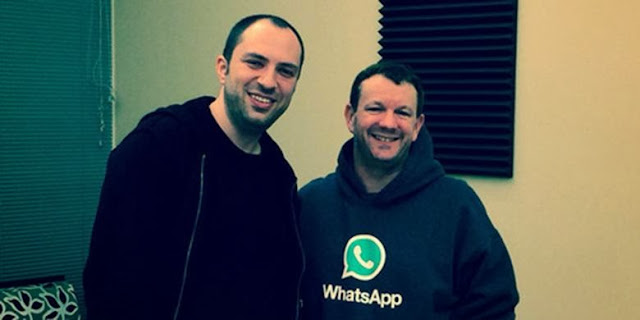 Penemu Aplikasi WhatsApp Ternyata Tukang Sapu