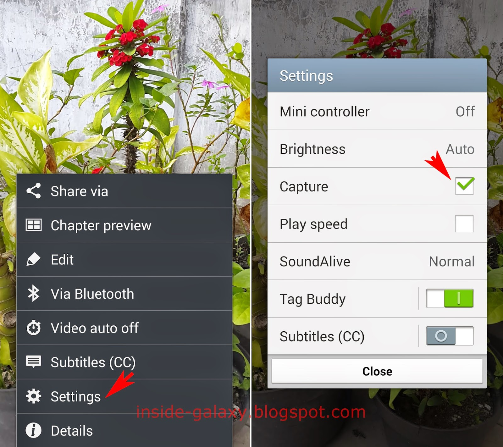 Samsung Galaxy S4: How to Fix Can't Find Capture Icon in the Video