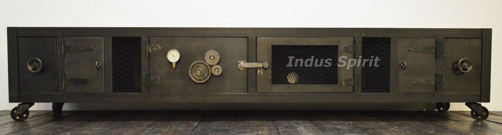 Meuble TV industriel XXL
