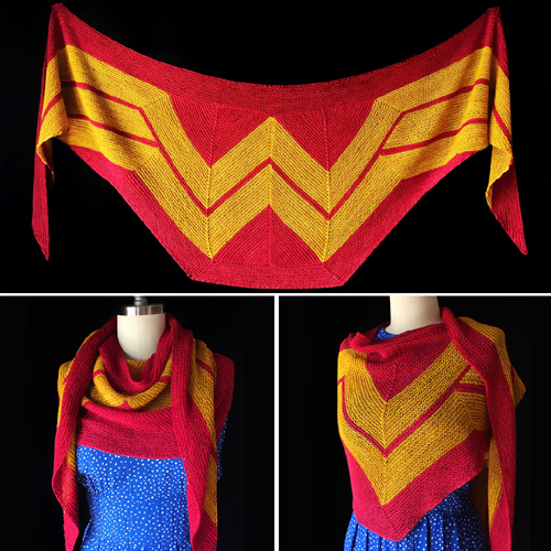 Wonder Woman Wrap - Free Pattern