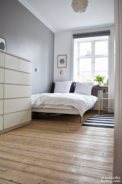 Dormitorio nordico for Ideas decorar habitacion matrimonio