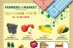 Katalog Promo Farmers Market Weekend Terbaru 25 - 27 Mei 2018