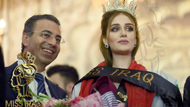 سحب اللقب من ملكة جمال العراق لهذا السبب