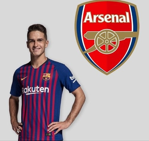 Barcelona Midfielder, Denis Suarez Set To Join Arsenal