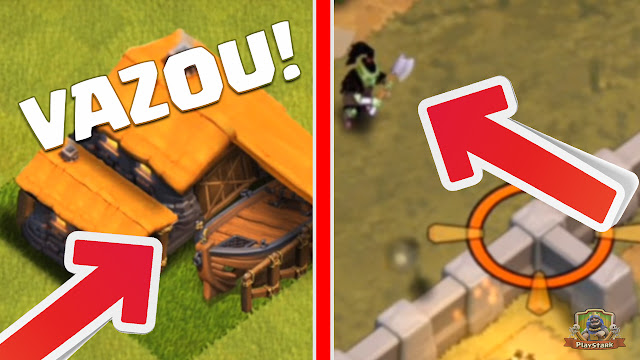 Vazou no Clash of Clans - Barco