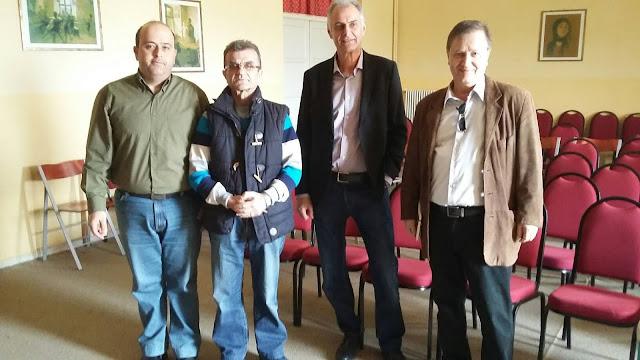 Επίσκεψη Γ.Γκιόλα στο Ειδικό Διθέσιο Δημοτικό Σχολείο Ερμιονίδας
