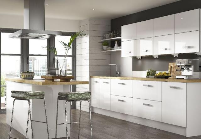Tủ bếp gỗ Acrylic có bền không?