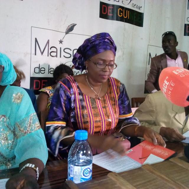 Guinée : Éducation, Kadiatou Bah lève le ton sur la descente au bureau du SLECG à Donka
