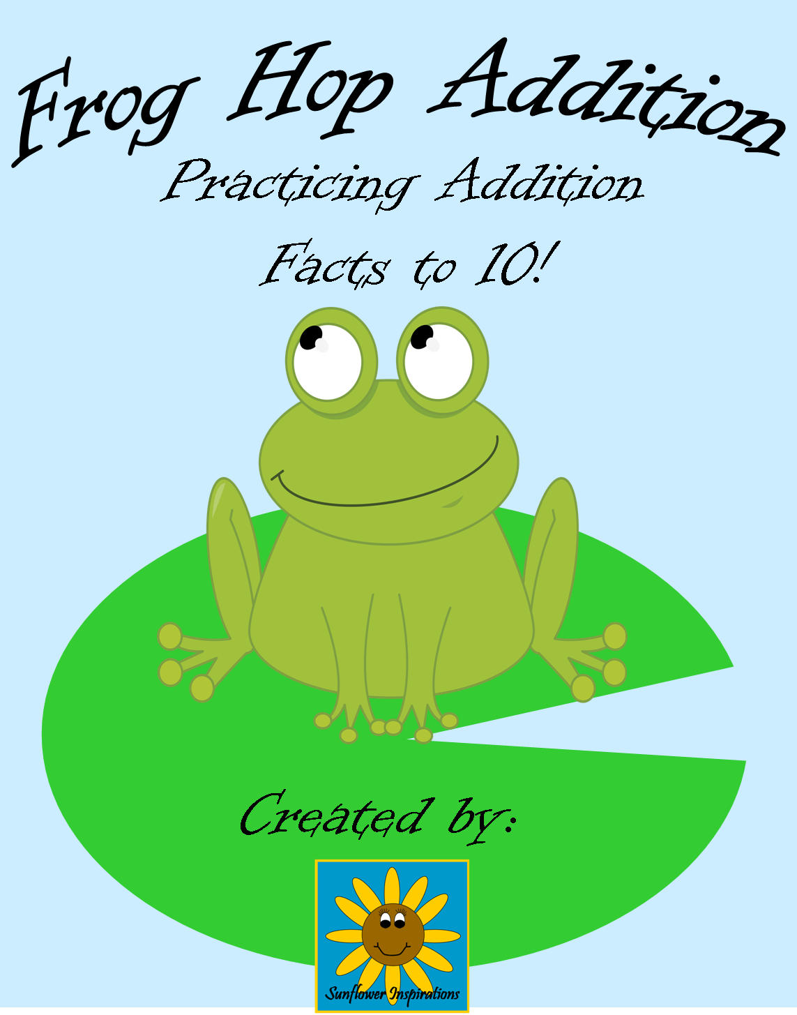 Sunflower Inspirations Frog Freebies