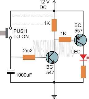 simple delay timer circuits explained electronic circuit projects
