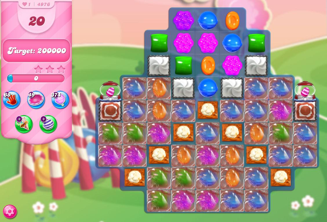 Candy Crush Saga level 4976