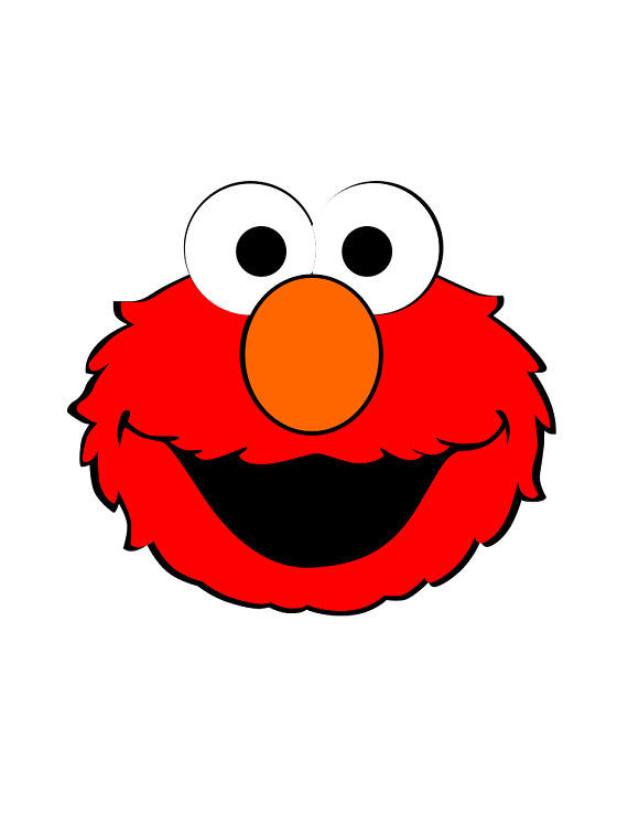 Sesame Street Cartoon Character Svg S To Cut With Cricut