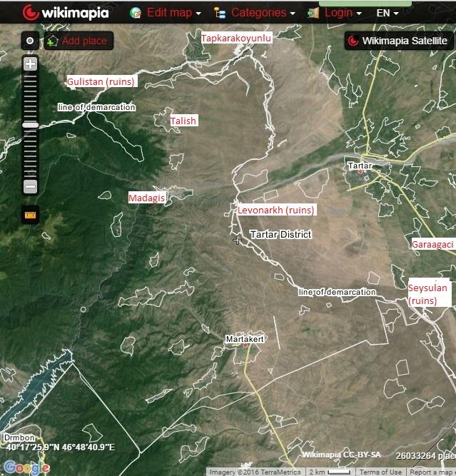Yandunts April 2016 War In Karabakh A Chronology