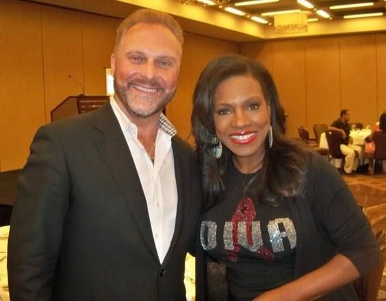 With Sheryl Lee Ralph, Las Vegas, 2011